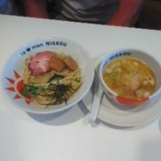 柚子白湯つけ麺150g(ラーメンニッコウ (la-men NIKKOU))