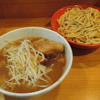 シークァーサーつけ麺(ニンニク少なめ、カラメ)(ラーメン二郎 八王子野猿街道店 2 )