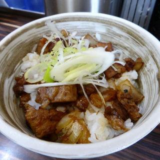 豚肉ごはん(ラーメン人生JET (ラーメン人生ジェット))