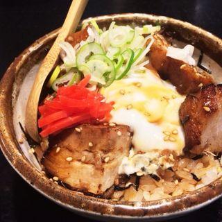 チャーシュー丼(らーめん初代 社 (やしろ))