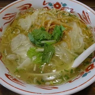 塩ワンタン麺(らーめん小川軒)