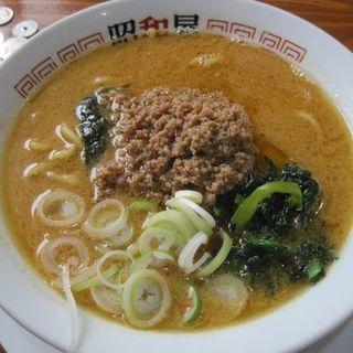 担々麺のあっさり太麺