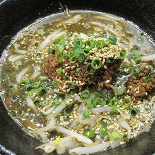 味噌担担麺 小盛り(らーめん本竈)