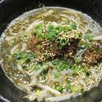 味噌担担麺 小盛り