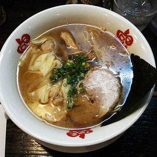 海老わんたん麺 醤油味(らーめん本竈)