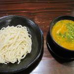胡麻の辛いつけ麺(らーめん本竈)