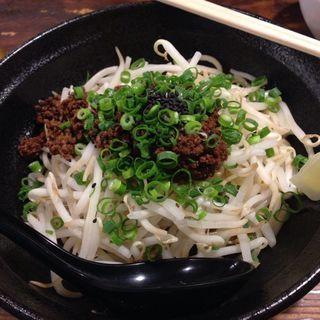 汁なし黒胡麻担々麺(らーめん本竈)