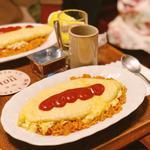 オムライス(喫茶 YOU)