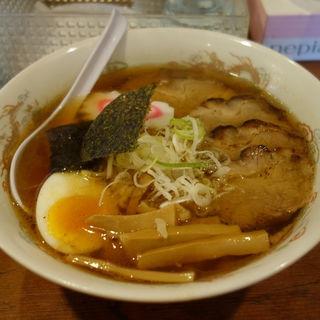 醤油ラーメン+チャーシュー(らーめん梵天 日光店 )