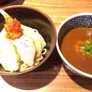 蟹トマトつけ麺(ラーメン燈郎)