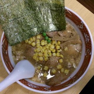 くもたまチャーシュー麺+のり(2枚)+コーン(らーめん臺大 (らーめんだいだい))