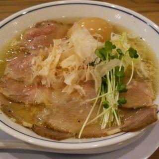 塩ラーメン(らーめん鱗 西中島店 (ラーメンウロコ))