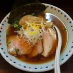 あけどや(特製)香味正油ら~麺