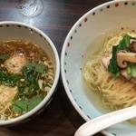 松茸白だしつけ麺(夏麺第6弾)