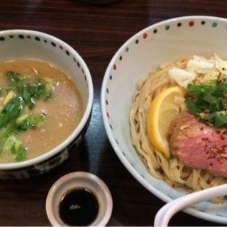 鴨白湯つけ麺(5月前半限定)(らー麺 あけどや )
