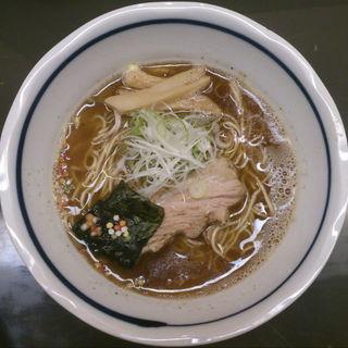 しょうゆ らぁ麺(らぁめん登里勝 )