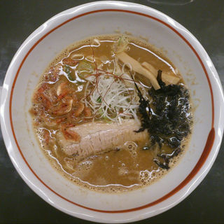 海老味噌 らぁ麺(らぁめん登里勝 )