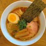 丸鶏中華そば(らぁ麺 めん奏心)