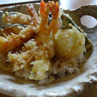 満腹ランチ(パーコーフォーと海老と野菜の天丼)(ライス共和国 )