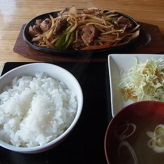焼肉定食(ラム善 (ラムゼン))