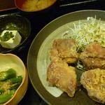 若鶏の唐揚定食
