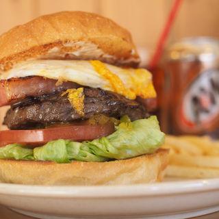 ベーコンエッグバーガー(The Burgerlion-バーガリオン)