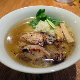 鶏塩らー麺(りょう花 大阪梅田店)