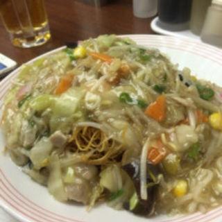 野菜たっぷり皿うどん(リンガーハット 福岡天神店)