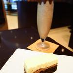 モントルー+アイスチョコレートドリンク