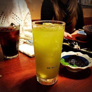 究極の緑ハイ(鍋焼ぼうず)