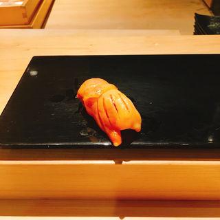 赤貝の握り(ますなが )