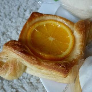 オレンジのデニッシュ(ル・カルフール)