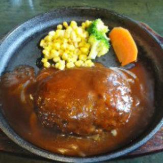 和牛ハンバーグセット(ライス赤だし付)(レア館 )