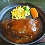 和牛ハンバーグセット(ライス赤だし付)