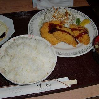 チキンカツ定食(レストラン すわ )