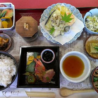 栗ご飯膳(レストランろまんてい )