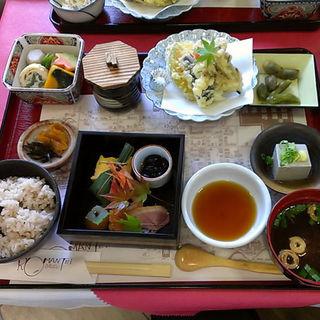 黒豆ご飯膳(レストランろまんてい )