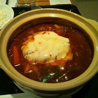 土鍋ハンバーグ(レストラン八白 星が浦店 )