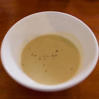 焼き芋のポタージュ(オステリア バルキーニョ)