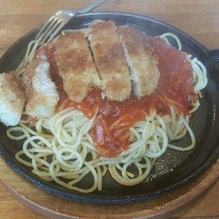 カツスパゲティ(ロータ (コーヒー&レストラン))