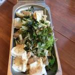 白のサラダ