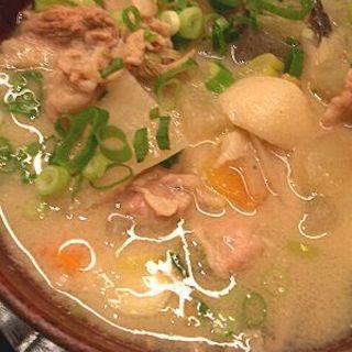 豚汁定食(わっぱ定食堂)