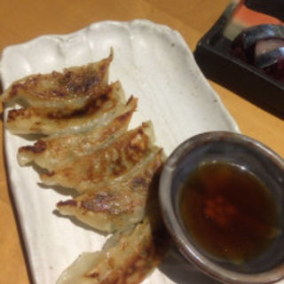 黒豚の焼き餃子(わらび )