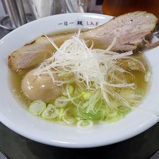 いつものヤツ レギュラー煮玉子付き(一日一麺LAB+ (イチニチイチメンラボプラス))