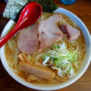 醤油ラーメン(コッテリ)(一条流がんこラーメン吉三郎)