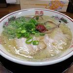 久留米の龍とんこつラーメン(一生懸麺 京橋南店)