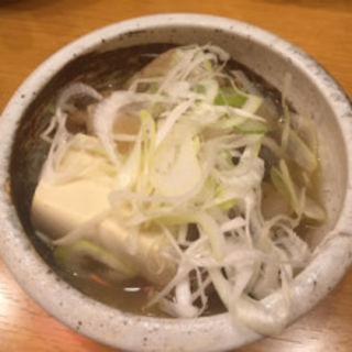 牛スジ煮込(一軒め酒場 川崎駅前本町店)