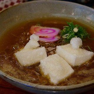 あんかけ揚げ餅蕎麦(一釉 (イチユウ))
