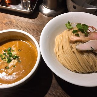 海老味噌つけ麺中盛(つけ麺一燈 (ツケメンイットウ))