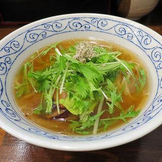 飛魚そば(一麺生 (イチメンセイ))